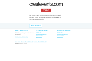 CREST EVENTS